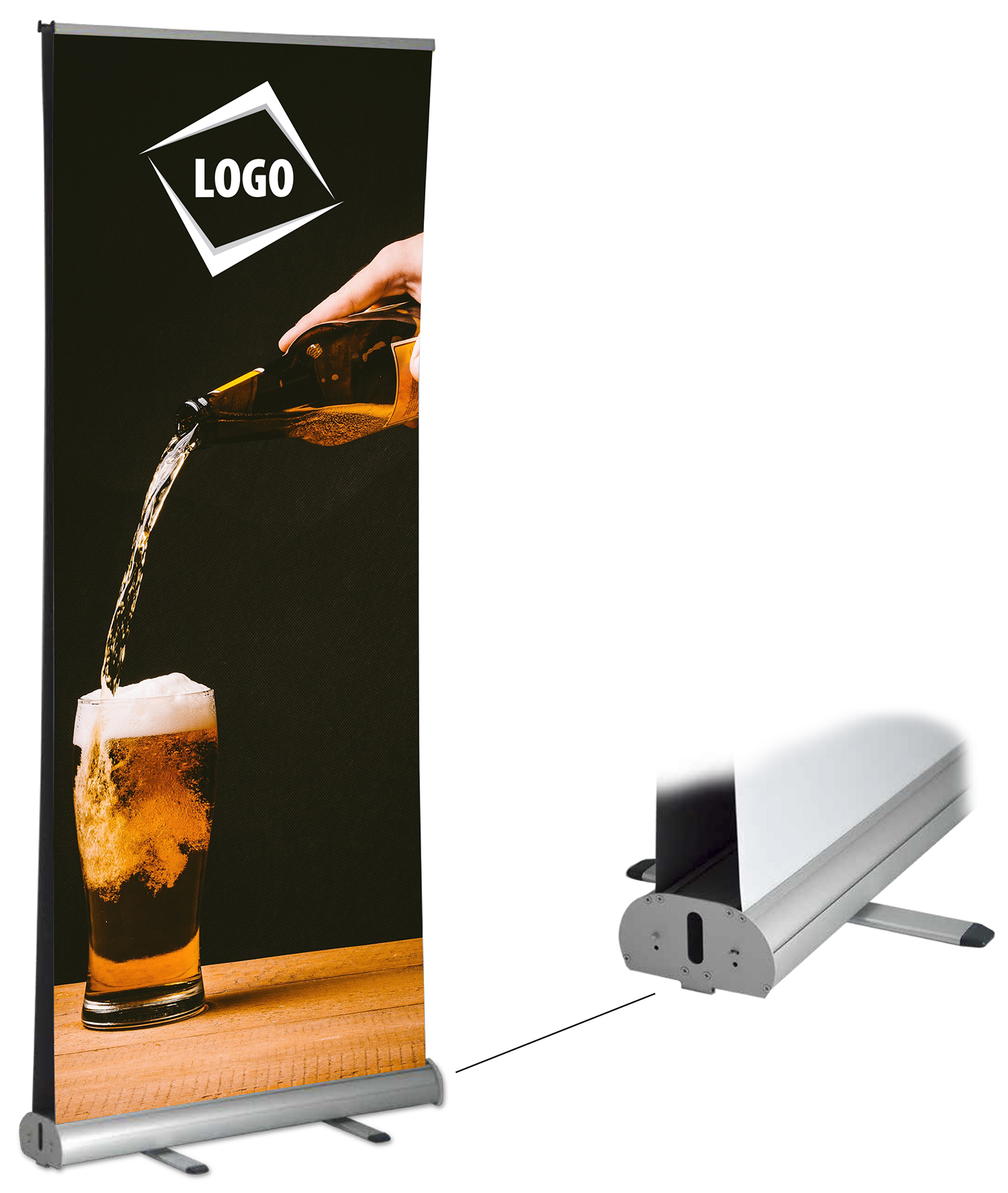 Retractable Banners Canada Retractable Banner Stands At