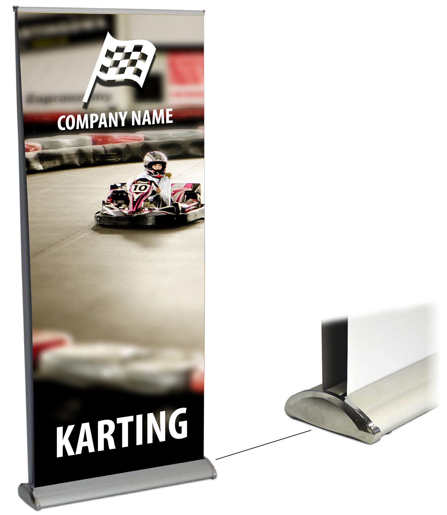 Dartmouth Double-side deluxe rollup banner stand